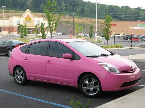 Pink Prius