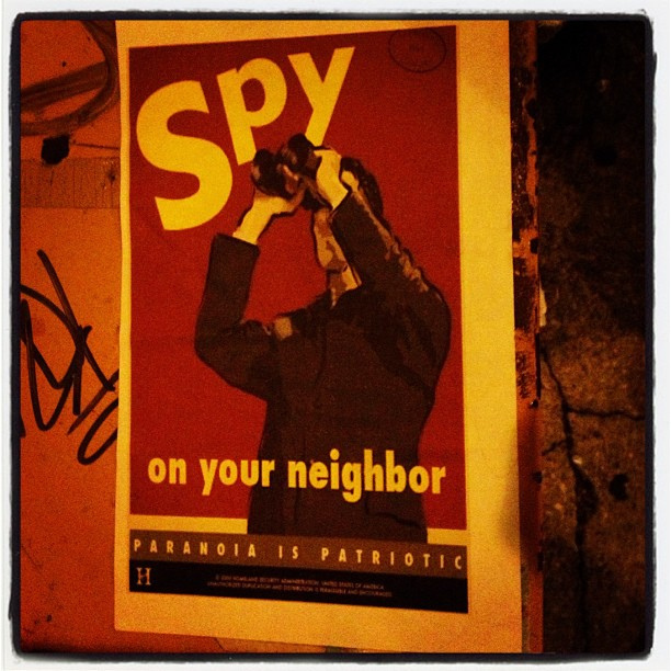 Spy on your neighbor