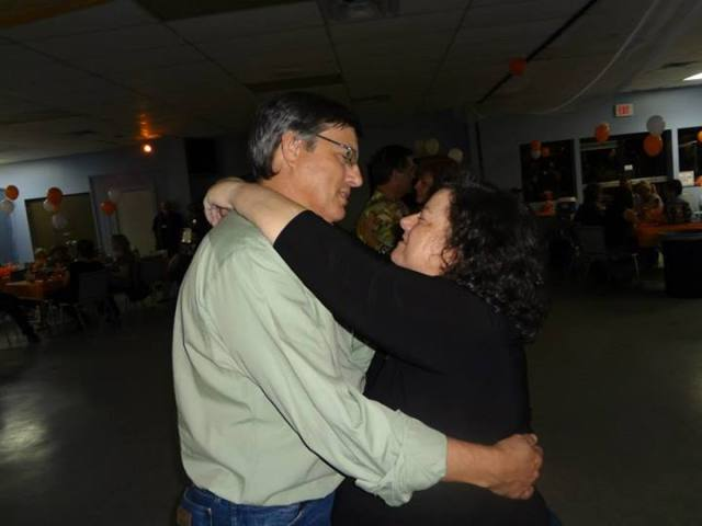 Dancing with my favorite fella