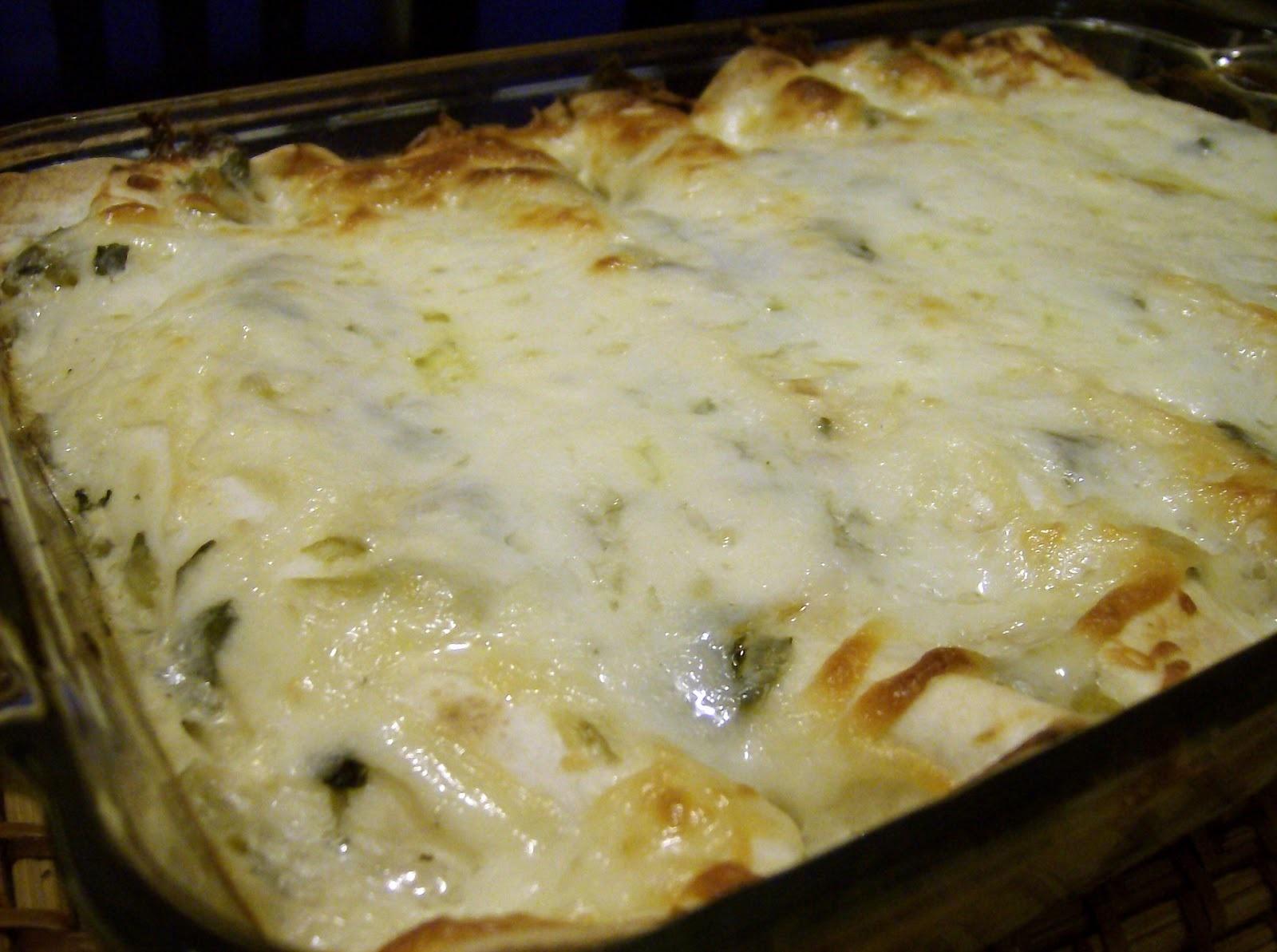 Foodie Friday – Chicken Enchiladas with Sour Cream Sauce ...