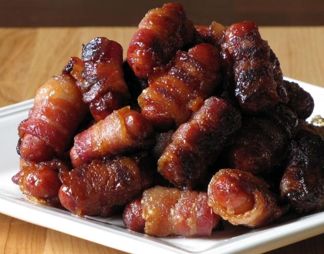 Bacon-Wrapped Smokies 4