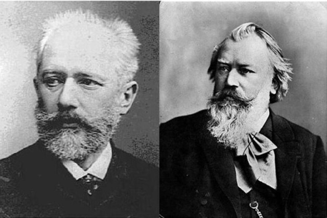 Brahms and Tchaikovsky