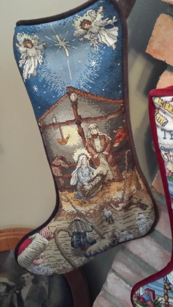 Stockings - Nativity - Finished 06.23.2005